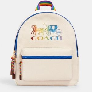 Limited Edition Coach Pride Charlie Backpack